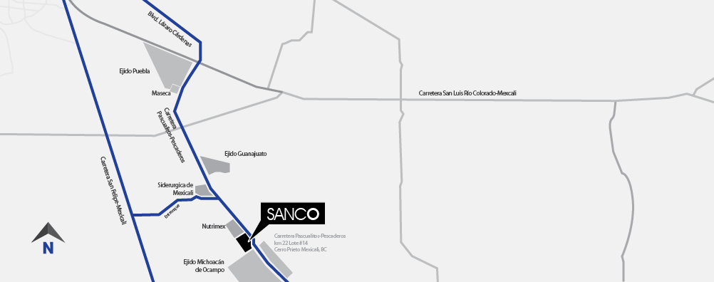 sanco contact us
